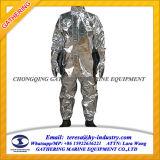 Vestito alluminato termoresistente di metodo del fuoco/vestito del fuoco