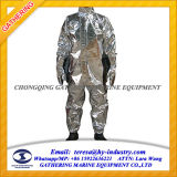 Het hittebestendige Gealuminiseerde Kostuum van de Benadering van de Brand/het Kostuum van de Brand