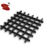 Hölzernes Korn AluminiumDecoractive Panel-Rasterfeld-Zellen-Decke
