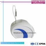 Portable 980nm laser à diode laser de la dépose de la machine vasculaire