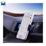 360 grados del coche del montaje de la horquilla de la salida de aire del teléfono móvil de sostenedor de giro libre del coche