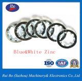 Schwarze verzinkte DIN6797j interne Zahn-Unterlegscheibe-Stahlunterlegscheibe-Federring der Fertigstellungs-