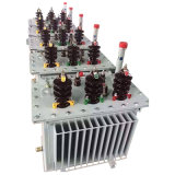 La haute tension 3 Phase Oil-Immersed type transformateur de distribution de puissance