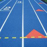 pista corriente de goma atlética híbrida de 13m m