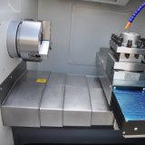 Ck6140L 선형 가이드 방법 편평한 침대 CNC 선반 기계