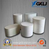 En forma de panal de cerámica de automoción catalizador sustrato portador