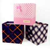 Stampa su ordinazione del sacco di carta del regalo delle borse di colori di immaginazione quattro
