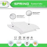 Los ácaros del anti-polvo Queen Size bacteriana resistente al agua 100% de la funda de colchón protector de colchón reutilizables tapa