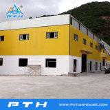 (EPS/PU/XPS/Rockwool+) do painel da parede do tipo sanduíche prédio de estrutura de aço prefabricadas
