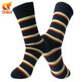Bunter Streifen-glückliche Socke für Mann-Kleid-Zoll-Socke