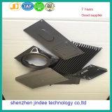 Части раковины репроектора высокой точности алюминиевые подвергли механической обработке CNC, котор с Oxidization