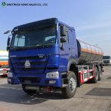 Carro del tanque de gasolina y aceite del petrolero del policía motorizado 30m3 Disel de Sinotruk 12