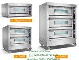 Коммерческие три палубы шесть лоток электрические печи для выпечки с маркировкой CE
