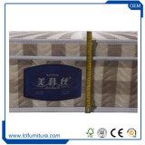 Colchón de resorte Pocket de la compresa con la esponja de la fibra de la palma del látex de la memoria