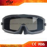 TPU haltbares Rahmen-ballistisches hohes Auswirkung PC Objektiv taktische Paintball Schutzbrille-Armee-Militär-Schutzbrillen