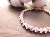 Natürliche Edelstein-Schmucksache-gemischtes buntes Stein CZ-Armband für Geschenk-Frauen