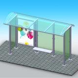 최고 가격 옥외 가구 버스 정류소 대피소 디자인