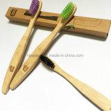 Toothbrush. di bambù biodegradabile naturalmente antimicrobico