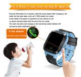 2017 Nuevo GPS Tracker Sos chico inteligente ver con la linterna