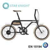 Batterie détachable de bicyclette électrique en aluminium de bicyclette de pouvoir vert