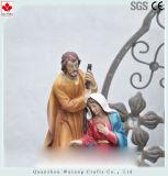 Natividade Religiosas de resina decoração Set Home figuras de resina