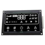 VA LCDの白いバックライトの英数字のカスタマイズされたLCD表示