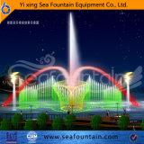 Танцуя музыкальный нержавеющий фонтан воды квадрата фонтана пруда насоса