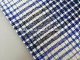 면 털실 염색된 자카드 직물 Flannel 직물 Lz7770