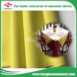 Leve Tecido Non-Woven respirável para toalhas de mesa com DOT