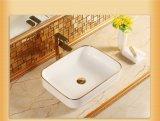 Санитарные продовольственный Golen табличка стороны раковина для ванной комнаты (C1192)