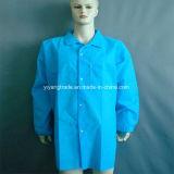 Одноразовые Non-Woven куртка Lab слой с Pocket