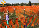 Cerca plástica anaranjada Anti-ULTRAVIOLETA 100% de la barrera del control de muchedumbre del HDPE de la Virgen