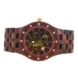 Geschäftsfarbe der versicherungs-vier kann sein wählen personifizierte Kunst-hölzerne Uhr