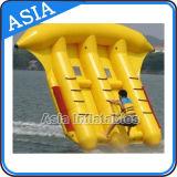 Almofada insuflável de banana boat flutuante arvorando o preço de peixe
