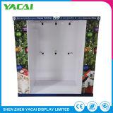 Reciclaje de papel personalizado piso de venta al por menor exposición de Rack de soporte de pantalla