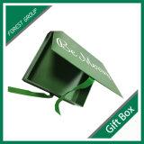Buch-Form-magnetischer Geschenk-Luxuxkasten mit Magnet-Schliessen