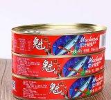 Banheira de vender carne fresca de excelente qualidade para a produção de conservas de sarda em molho de tomate