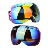 Bunte Winter-Formsnowboard-Schutzbrillen wahlweise freigestellte Ski-Schutzbrillen Schnee-Schutzbrille-Gläser