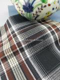 Tela listo el 100% de los hilados de algodón teñido de sarga verificar Fabric-Lz7130