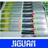 Adhesivo impermeable personalizada de cualquier tamaño de papel estucado etiqueta Vial duradero