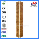 Le bois normal aveugle les obturateurs en bois de Faux pour la porte en verre de glissement
