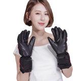 屋外のための5つの指および裏側の熱くする手袋