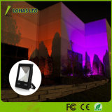 Cambio de color RGB proyector LED impermeable
