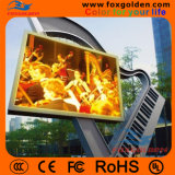 Video farbenreiche LED, die Bildschirm P12 bekanntmacht