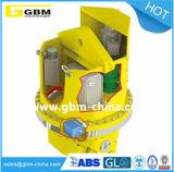 De Wartel die van de Macht van Gbm de Telescopische Verspreider van de Container voor de Kraan van het Dek roteren