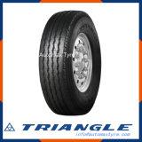 Datenbahn-Qualitätsgarantie des Dreieck-215/75r17.5, ausgezeichnete Verschleißfestigkeit EU beschriften, tauschen Reifen