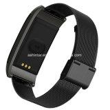 Водонепроницаемая Bluetooth давление кислорода в крови Пульсомер браслет спорт Smart браслет