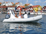 Constructeur chinois de bateau de bateau gonflable de côte de Liya 5.8m