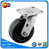 Echador del eslabón giratorio con la rueda de goma elástico