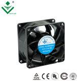 Xinyujie 8025 80x80x25mm 3.2inch ruido bajo el uso de máquinas de embalaje 12V 24V DC ventilación de escape
